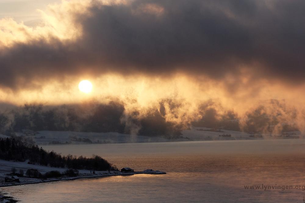 - 20 degree C, early January in Trondheim - minus 20 grader tidlig i Januar, Trondheim