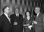 1958 - 01/07 Wexford Festival Conference at Jury's Hotel
