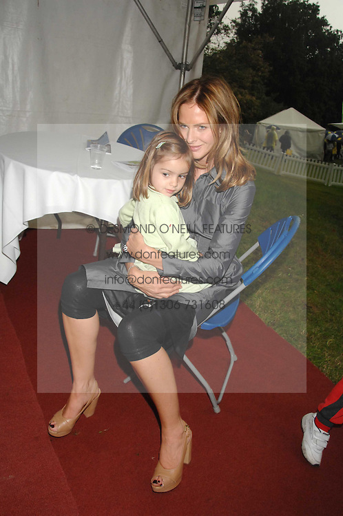 TRINNY WOODALL and her daughter LYLA ELICHAOFF  at Macmillan Dog Day in aid of Macmillan Cancer Support, held at Royal Hospital Chelsea, London on 3rd July 2007.<br /><br />NON EXCLUSIVE - WORLD RIGHTS