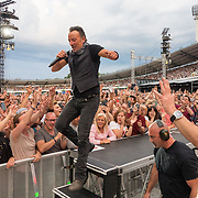 Bruce Springsteen and The E Street Band in concert at Ullevi Stadium, Gothenburg, Sweden - 25 Jun 2016