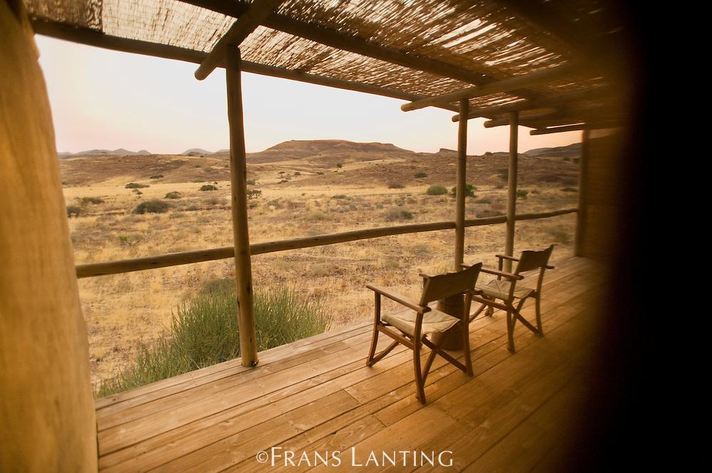 Guest chalet, Damaraland Camp, Torra Conservancy, Damaraland, Namibia