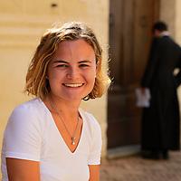 Tour guide,Sara Mammana,Pienza,Tuscany, Italy, Europe