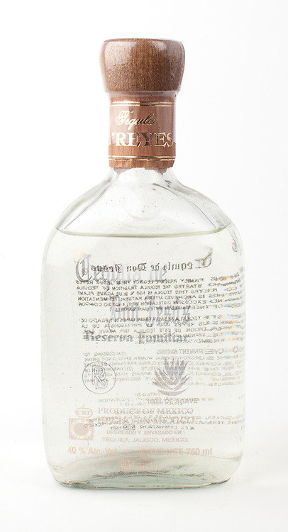 Tequila de Don Jesus Reserva Familiar blanco -- Image originally appeared in the Tequila Matchmaker: http://tequilamatchmaker.com
