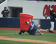 Cup races at Ole Miss vs. Lipscomb at Oxford-University Stadium in Oxford, Miss. on Saturday, March 9, 2013. Ole Miss won 8-5. The win was the 486th for Mike Bianco as the Rebel head coach, making him the university's all time winningest baseball coach.