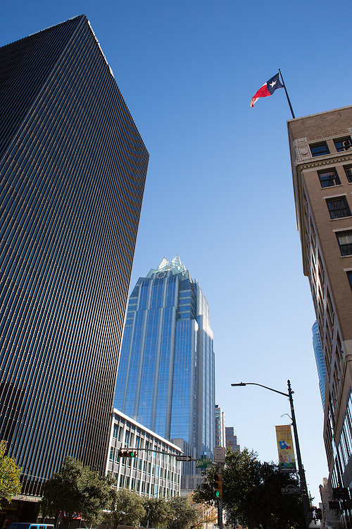 The Frost Bank Tower in downtown Austin, Texas