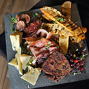 Charcuterie and Cheese for Two at Cure Restaurant and Bar in Unionville, Conn., Friday, Jan. 22, 2016. (Jessica Hill for the New York Times)