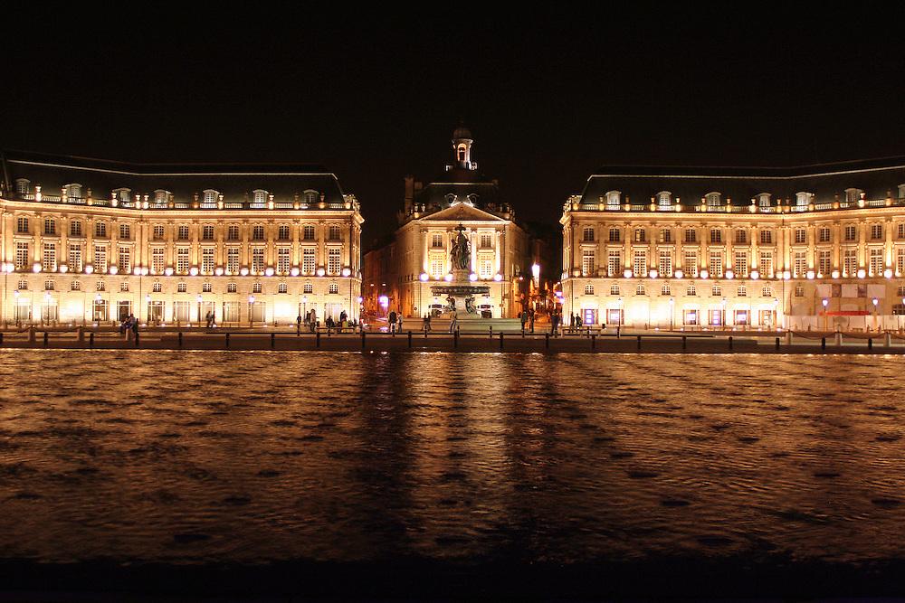 Place de la Bourse<br /> Bordeaux, France