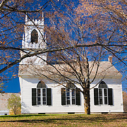 Church in Landgrove Vermont USA