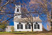 Church in Landgrove Vermont USA