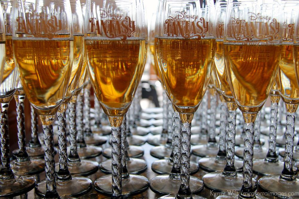 Disney Fantasy Cruise INaugural Champagne