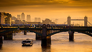 Sunrise over the River Thames this morning<br /> SME
