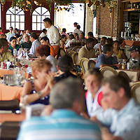 Fuerte Amador Resort and Marina. Isla Flamenco. Len?os Colombian grill restaurant.