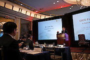 China Investment Capital Corporation hosted Forum US 2012 at The Palace Hotel in New York on May 18, 2012. The forum, A Year of Transition and Reform,  was by invitation only and featured presentations by leading  authorities in world finance and economics.