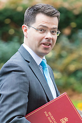 Downing Street, London, December 13th 2016. Northern Ireland Secretary James Brokenshire arrives at the weekly meeting of the cabinet at Downing Street, London.