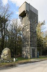 Luchtwachttoren Oudemirdum, Fryslân, Netherlands
