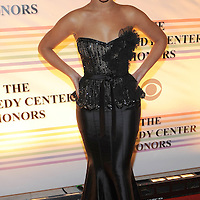 Beyonce Knowles attends the 31st annual Kennedy Center Honors, at the John F Kennedy Center for the Performing Arts in Washington, DC on December 07, 2008