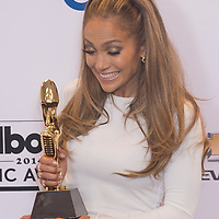 LAS VEGAS - MAY 18 : Recording artist Jennifer Lopez attends the 2014 Billboard Music Awards press room at the MGM Grand Garden Arena on May 18 , 2014 in Las Vegas.