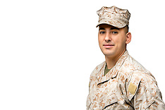 Hispanic Marine Man