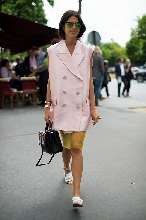 Leandra Medine at Dior Couture FW2014