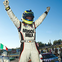 Klaus Graf Celebrates Winning The Grand Prix of Mosport
