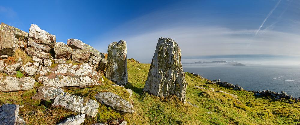 Bolus Head Standing Stones, Ballinskelligs, Co. Kerry, Ireland