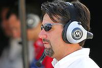 Michael Andretti at the Michigan International Speedway, Firestone Indy 400, July 31, 2005