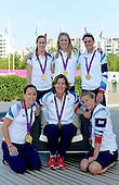 20120813 GB Rowing Medalist, Olympic Village