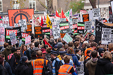 2014-11-19 Students march in London demanding free education