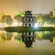 Hoan Kiem Lake / Hanoi / Vietnam