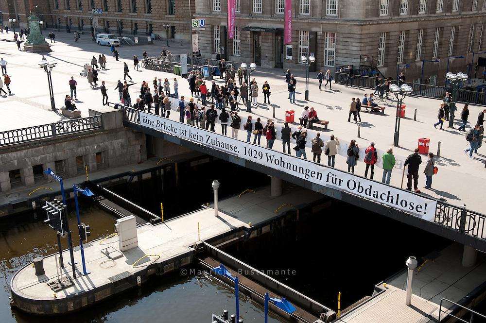 Hamburgs Obdachlose brauchen jetz dringend Wohnungen und menschenwürdige Unterkünfte