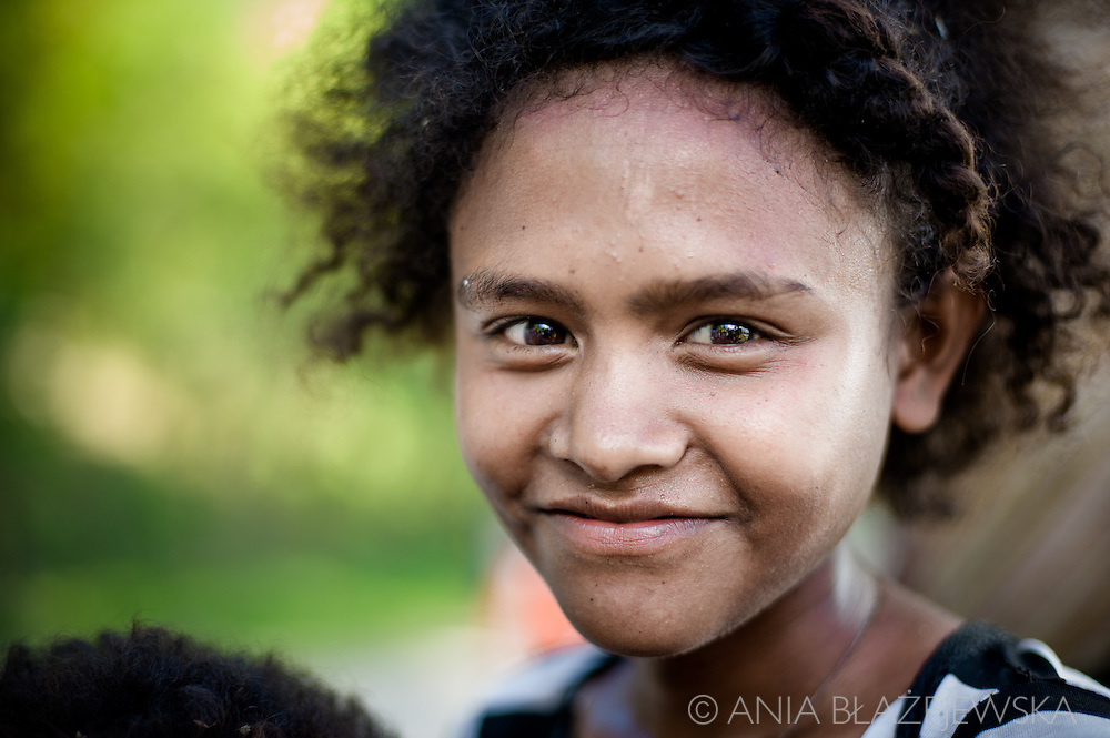 The Aeta people are indigenous and aboriginal people of the Philippines  who live isolated mountainous parts of Luzon island Philippines, mainly in the Pinatubo volcano area. They are called Negritos for their dark brown skin and curly hair.