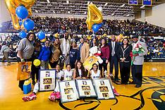 2015-16 A&T Women's Basketball vs NC Central (Senior Night)