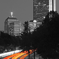 Beautiful selective color black and white Boston skyline night photography from award winning Boston fine art photographer Juergen Roth. <br /> <br /> This selective color B&amp;W Boston skyline photography image is available as museum quality photography prints, canvas prints, acrylic prints or metal prints. Prints may be framed and matted to the individual liking and decorating needs: <br /> <br /> http://juergen-roth.pixels.com/featured/storrow-drive-headlights-juergen-roth.html<br /> <br /> Good light and happy photo making! <br /> <br /> My best, <br /> <br /> Juergen<br /> Website: www.RothGalleries.com<br /> Twitter: @NatureFineArt<br /> Facebook: https://www.facebook.com/naturefineart<br /> Instagram: https://www.instagram.com/rothgalleries