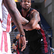 Sioux Falls Skyforce Forward Shawn Jones (22) tries to maneuver a defender in the Second half of a NBA D-league regular season basketball game between the Delaware 87ers and the Sioux Falls Skyforce (Miami Heat) Tuesday, Jan. 27, 2015 at The Bob Carpenter Sports Convocation Center in Newark, DEL