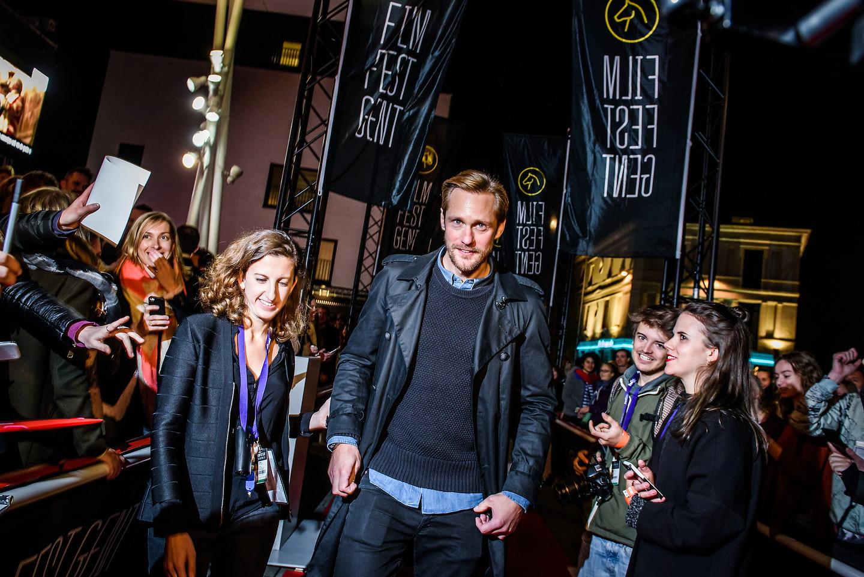 Film Fest Gent - Alexander Skarsgård & Marielle Heller (20-10-2015)