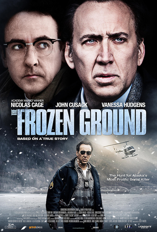 COVER OF THE FEATURE FILM, THE FROZEN GROUND - 2013: