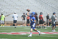 Football camp at the Ole Miss in Oxford, Miss. on Saturday, June 8, 2013.