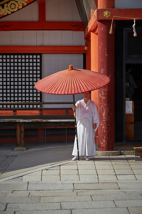 Yasaka Shrine, formerly known as Gion Shrine, is a Shinto Shrine in Kyoto. Dating back to 656, the shrine attracts large crowds during new year and cherry blossom seasons, as well as being a key stop for tourists.