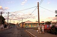 Street in San Juan y Martinez, Pinar del Rio, Cuba.