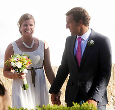 JUNE 01 2013 Spanish Surfer Marina Alabau Wedding