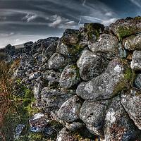 Dry stone wall, Dartmoor National Park, Devon