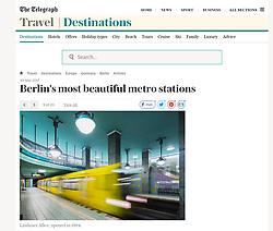 The Telegraph; Berlin underground station