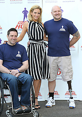 APR 23 2013 Sarah Harding named as new ambassador for wounded sevicemen charity