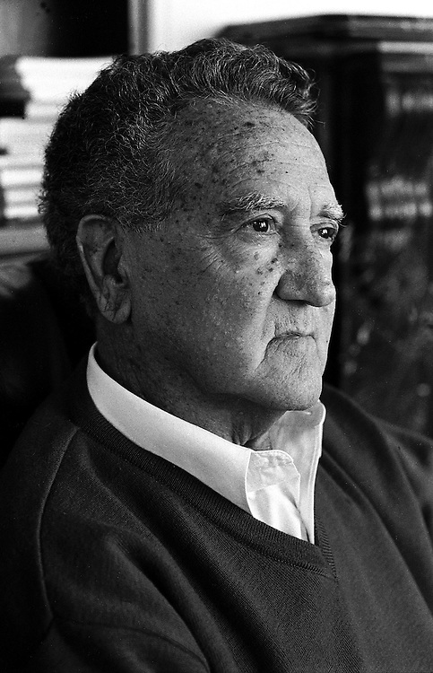 Aboriginal activist Charles Perkins at his home in Sydney shortly before his death. May 2000.©David Dare Parker