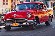 Car in Vinales, Pinar del Rio, Cuba.