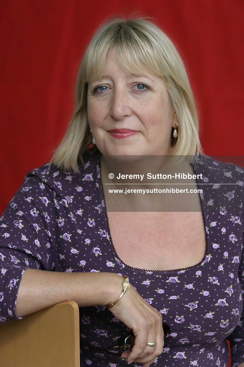 """Lynne Truss, author of """"Eats, Shoots and Leaves""""..(5 Pictures, non-exclusive)."""