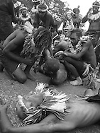 Cultural celebrations ahead of Independence Day celebrations, Port Moresby, Papua New Guinea, Saturday 13th September 2008..
