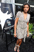 Taraji P. Henson at Lincoln Presents ' Off the Red Carpet ' during the 2008 American Black Film Festival held at the Sofitel Hotel on August 7, 2008
