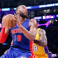 03-10 PISTONS AT LAKERS