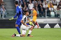 14.09.2016 - Champions League - Juventus-Siviglia - nella foto : Paulo Dybala deluso a terra